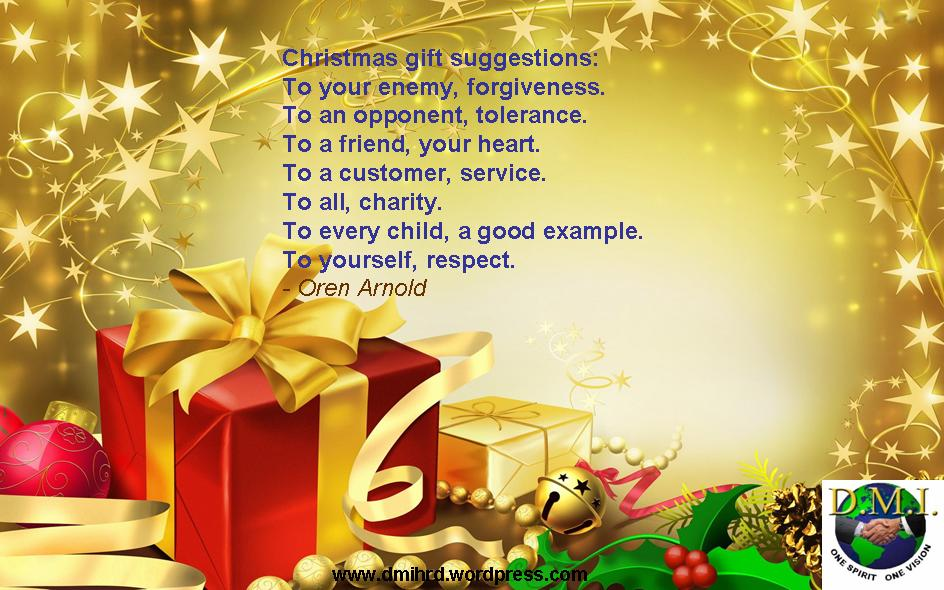 XMas Greetings | DreamMakers International